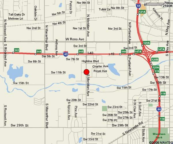 map of oklahoma city